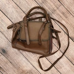 Brown Strappy Bag